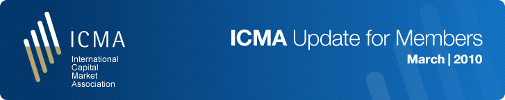 ICMA Update For Members March 2010