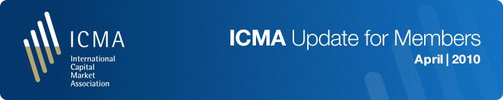 ICMA Update For Members April 2010