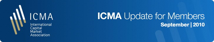 ICMA Update for Members September 2010